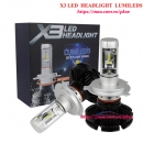 X3 Headlight Lumileds