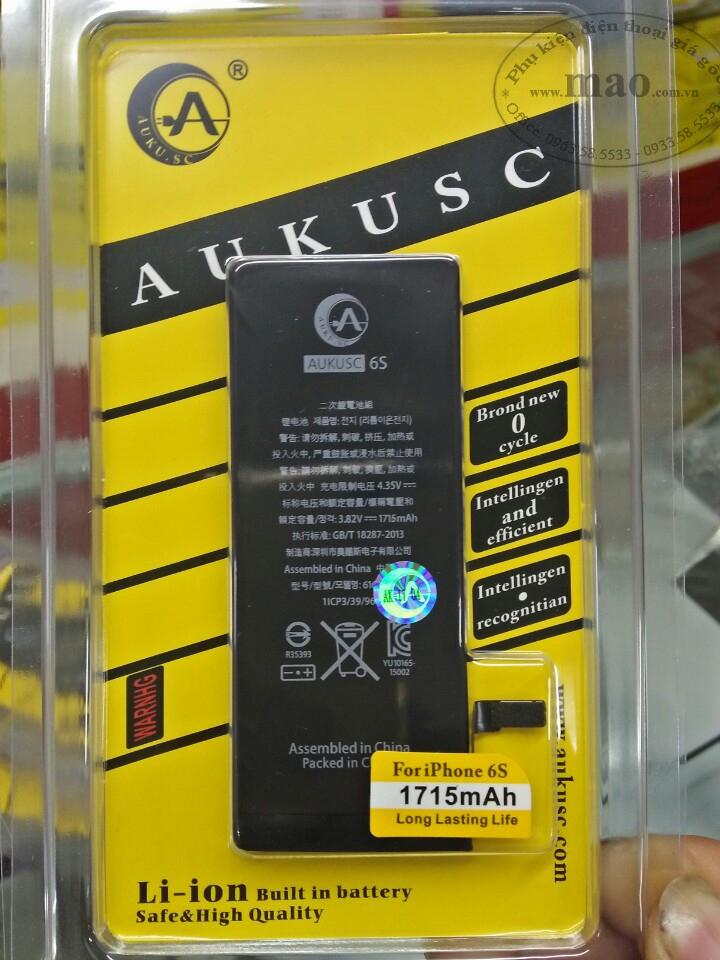 pin iphone chính hãng aukusc