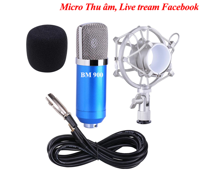 micro thu am live tream