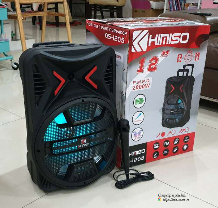 loa bluetooth kimiso 1205