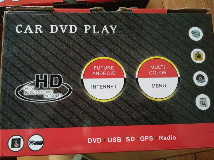 dvd android internet