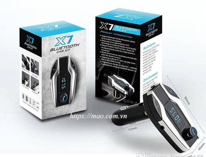 x7 bluetooth hands free car
